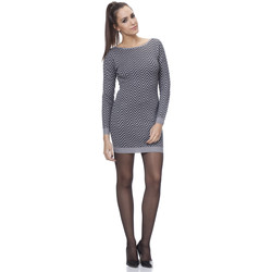 Clothing Women Dresses Tantra Dress HOLLY Grey / Black Woman Autumn/Winter Collection Grey