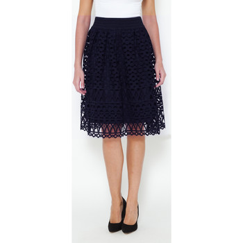 Clothing Women Skirts Tantra Openwork Skirt KELLY Navy blue Woman Spring/Summer Collection Navy blue