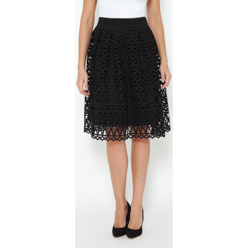 Clothing Women Skirts Tantra Openwork Skirt KELLY Black Woman Autumn/Winter Collection Black