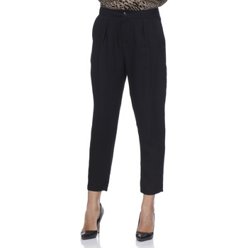Clothing Women Trousers Tantra Trousers SANDRA Black Woman Autumn/Winter Collection Black