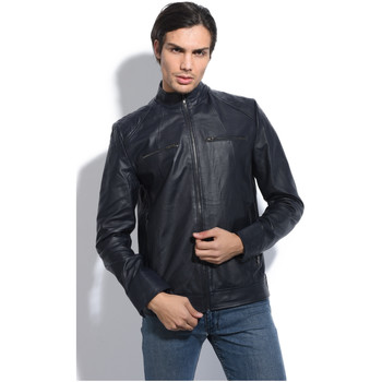 Clothing Men Jackets Jacqs Jacket APOLLON Navy blue Man Autumn/Winter Collection Navy blue