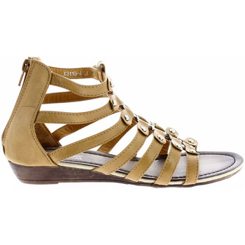 Shoes Women Sandals Milanelli Sandals COLINE Beige Woman Spring/Summer Collection Beige