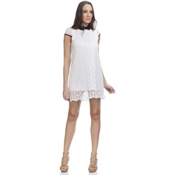 Clothing Women Short Dresses Tantra Lace dress FIONA White Woman Autumn/Winter Collection White