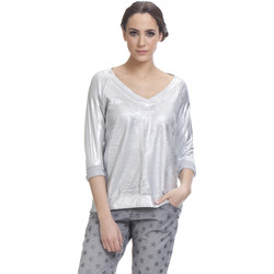 Clothing Women Tops / Blouses Tantra Top ROMA Silver F Silver