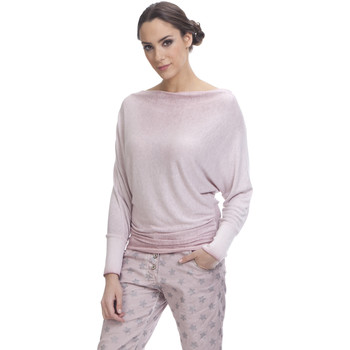 Clothing Women Tops / Blouses Tantra Top HANNA Pink F Pink
