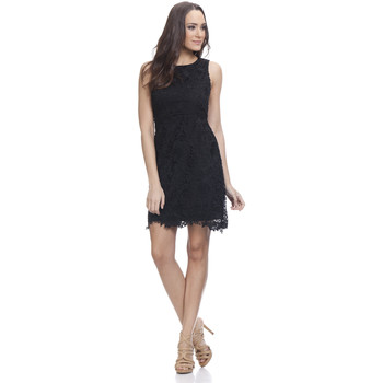 Clothing Women Short Dresses Tantra Dress AMAL Black Woman Autumn/Winter Collection Black