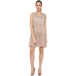 Clothing Women Short Dresses Tantra Dress SHANNA Taupe F Taupe