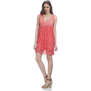 Clothing Women Dresses Tantra Lace dress LAURA Red Woman Autumn/Winter Collection Red