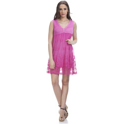 Clothing Women Dresses Tantra Dress LAURA Pink F Fuchsia