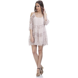 Clothing Women Short Dresses Tantra Dress SONIA Pink F Pink