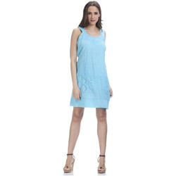 Clothing Women Dresses Tantra Dress PERRINE Turquoise F Turquoise