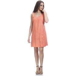 Clothing Women Dresses Tantra Dress PERRINE Salmon-pink F Salmon-pink