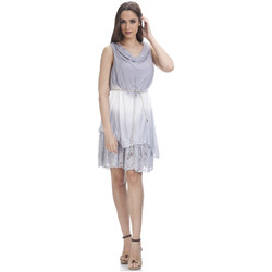 Clothing Women Dresses Tantra Lace dress MARINE Grey Woman Autumn/Winter Collection Grey