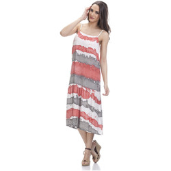 Clothing Women Dresses Tantra Printed dress HELOISE Red / Grey Woman Autumn/Winter Collection Red
