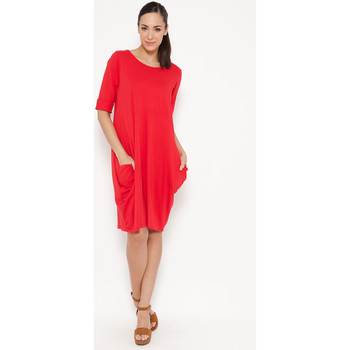 Clothing Women Short Dresses Tantra Dress NINON Red F Red