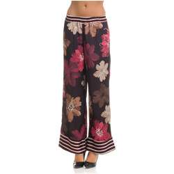 Clothing Women Wide leg / Harem trousers Tantra Printed trousers STELLA Red / Pink Woman Spring/Summer Collecti Red