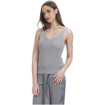 Clothing Women Tops / Blouses Tantra Top LEANA Grey F Grey