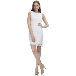 Clothing Women Dresses Tantra Lace dress JULIE White Woman Spring/Summer Collection White