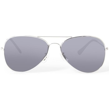 Watches Men Sunglasses The Idle Man Polarised Aviator Sunglasses Silver Silver