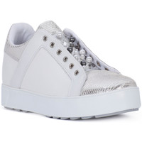 Shoes Women Low top trainers Apepazza INNER WEDGE CUPSOLE Bianco