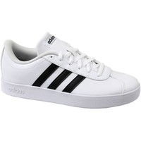Shoes Children Low top trainers adidas Originals VL Court 20 K White
