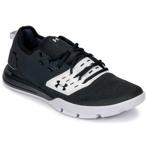 Shoes Men Fitness / Training Under Armour UA CHARGED ULTIMATE 3.0 Black / White