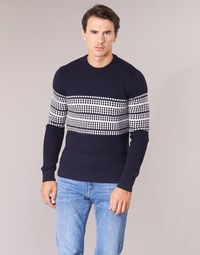 Clothing Men jumpers Aigle DARGERIAZ Marine