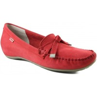 Shoes Women Loafers CallagHan very comfortable moccasin woman RED