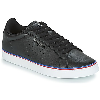 Shoes Men Low top trainers Le Coq Sportif COURTACE SPORT  black
