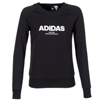 Clothing Women Sweaters adidas Performance ESS ALLCAP SWT Black