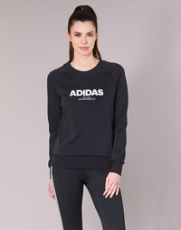 Clothing Women sweaters adidas Originals ESS ALLCAP SWT Black