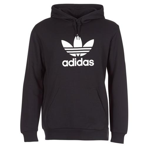 Trefoil Black Adidas Hoodie Originals Adidas Hoodie Black Originals Trefoil n80qzSw8Y