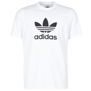 Clothing Men Short-sleeved t-shirts adidas Originals TREFOIL T-SHIRT White