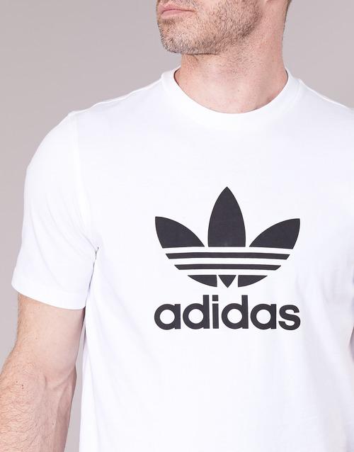 adidas TREFOIL White Originals SHIRT T rrxqwP4Ag