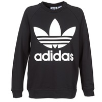 Clothing Women sweaters adidas Originals OVERSIZED SWEAT Black
