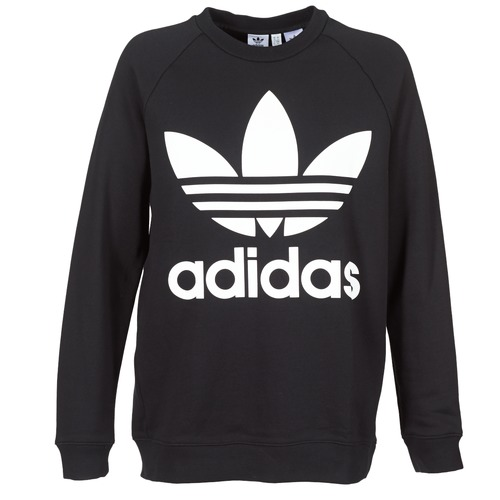 Adidas Originals Sweat Originals Black Oversized Oversized Adidas 04q0Z