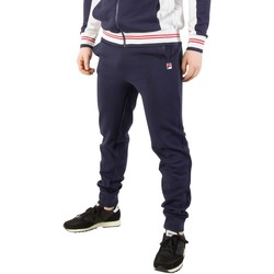 Clothing Men Tracksuit bottoms Fila Vintage Men's Sarento Rib Detail Track Joggers , Blue blue