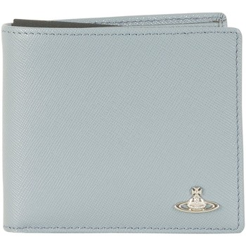 Bags Men Wallets Vivienne Westwood Men's Kent Credit Card Holder , Blue blue