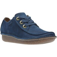 Shoes Women Derby Shoes & Brogues Clarks Funny Dream Womens Casual Shoes blue