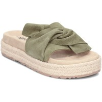 Shoes Women Mules Igi&co 1197422 Green-Beige