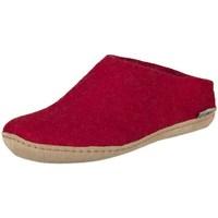 Shoes Women Slippers Glerups B0800 Red