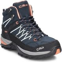 Shoes Women Walking shoes Cmp 3Q1294692AD Navy blue-Black