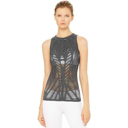 Clothing Women Tops / Sleeveless T-shirts Alo Yoga Vixen Fitted Muscle Tank Multicolour