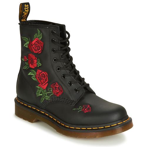 Shoes Women Mid boots Dr Martens 1460 VONDA Black