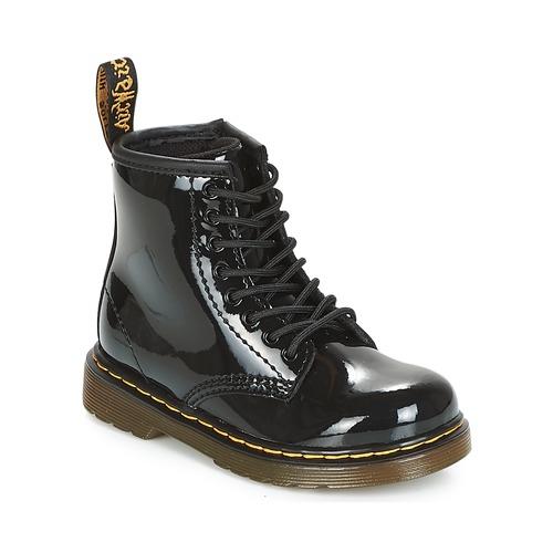 Shoes Girl Mid boots Dr Martens 1460 PATENT CADET Black