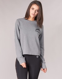 Clothing Women Sweaters Philipp Plein Sport ROUND AIR SQUAT Grey