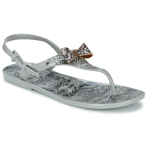 Shoes Women Sandals Colors of California SNAKE SANDAL Grey