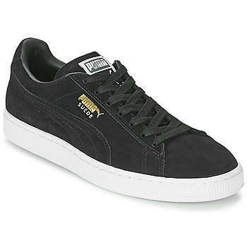 Shoes Low top trainers Puma SUEDE CLASSIC Black