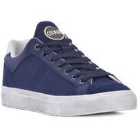 Shoes Men Low top trainers Colmar BRADBURY 092 Blu