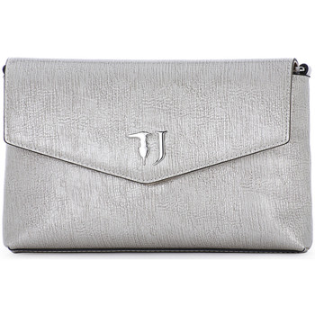 Bags Women Pouches / Clutches Trussardi 020 LINED RED CARPET Grigio